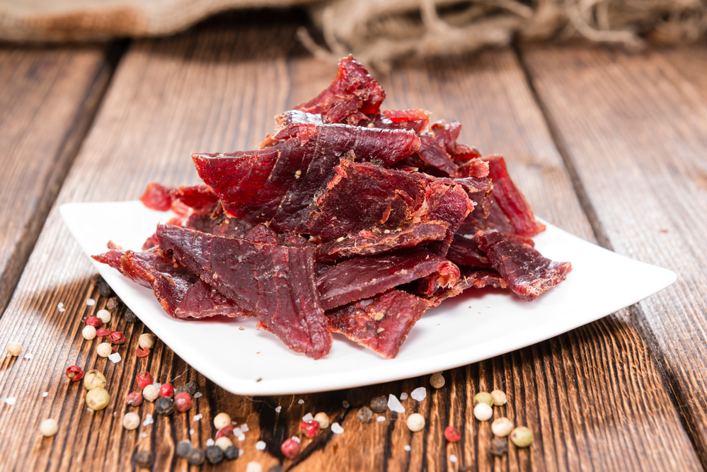 beef jerky not healthy