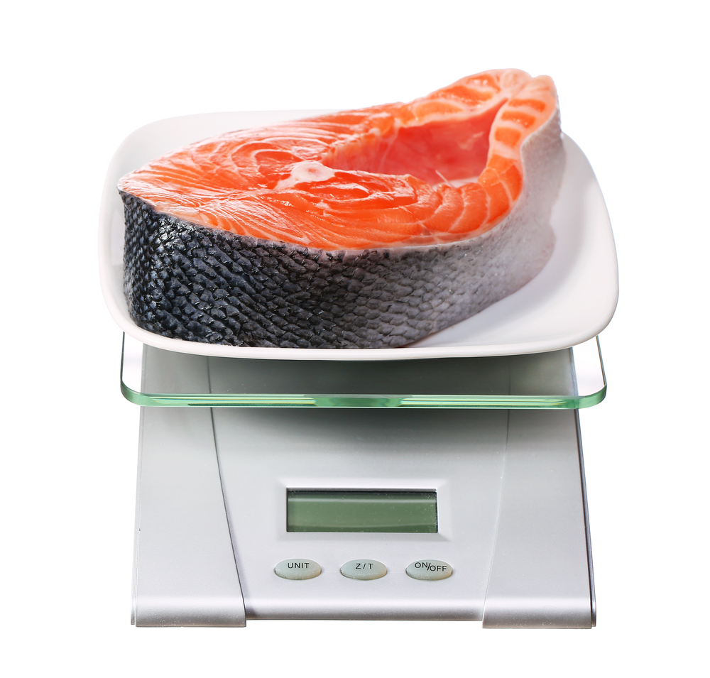 measure your serving sizes with a scale