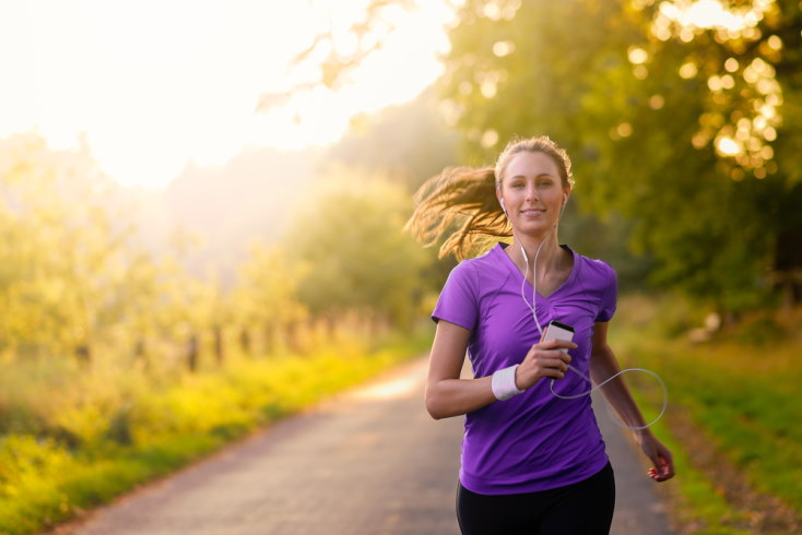 best places for jogging or running