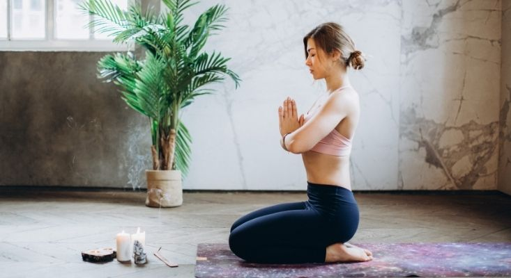 reduce stress with a yoga challenge
