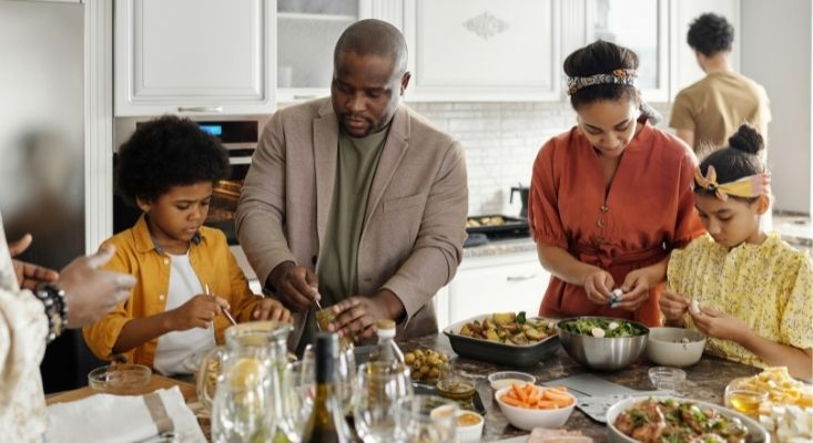 weight control during the holidays with family and friends